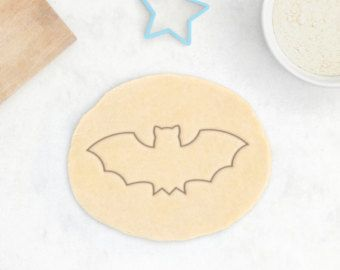 Pipistrello Cookie Cutter - Halloween Cookie Cutter Set animali Cookie Cutter Flying Rat - 3D stampato