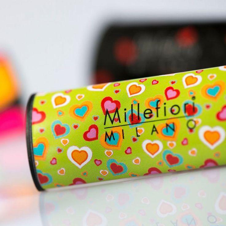 Millefiori Milano – vůně do auta Cuori & Fiori, Zelený čaj