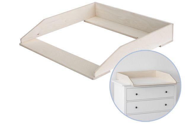 Wickelaufsätze - Wickelaufsatz für Ikea Kommode Hemnes - ein Designerstück von NewSwedishDesign bei DaWanda