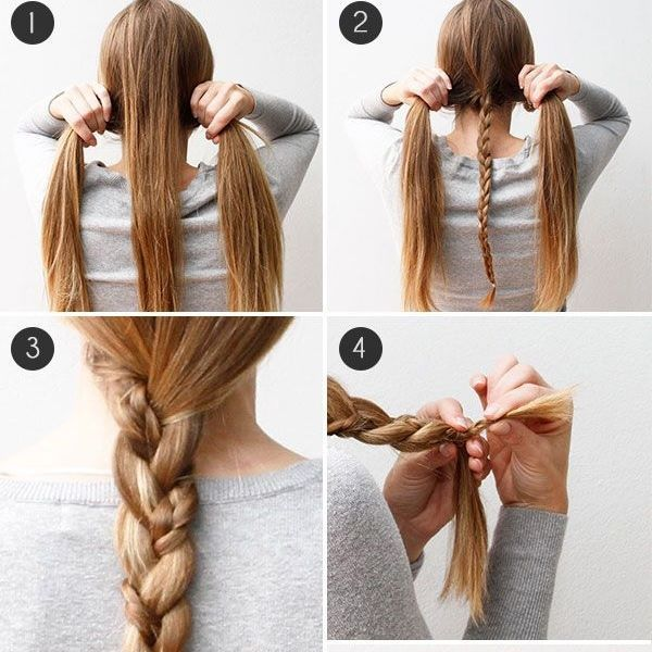 32 best Easy Hairstyles - Peinados Faciles images on Pinterest