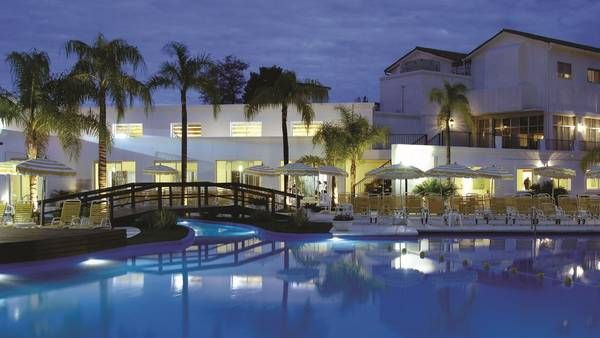 Resort y spa termal Los Pinos, en Río Hondo, Santiago del Estero.
