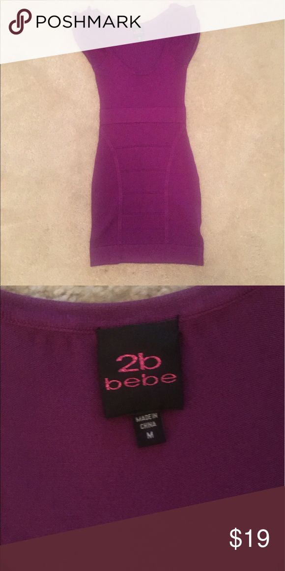 2B Bebe Purple Mini Dress 2B Bebe Purple Mini Dress. Worn once in Vegas a few years back. In great condition. It's. Abandage attle dress so it hugs every curve. Make me an offer 💕 2B Bebe Dresses Mini