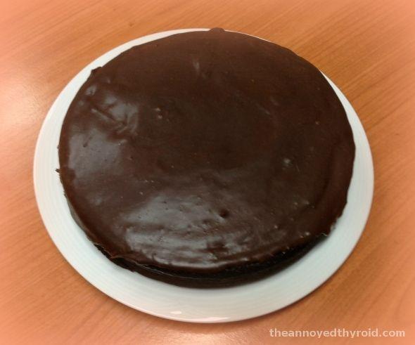 Nigella's Flourless Chocolate Orange Cake in the Thermomix