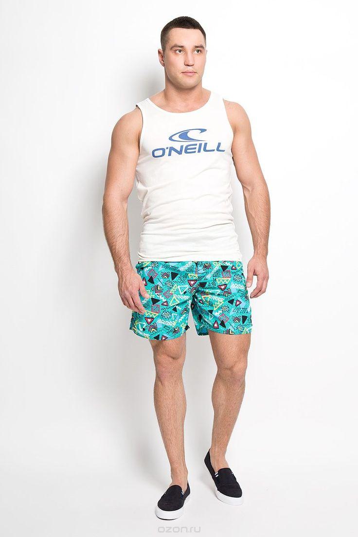 603222-6900Мужские летние шорты ONeill станут отличным дополнением к вашему спортивному гардеробу. Они выполнены из полиамида и имеют подкладку из полиэстера, благодаря чему удобно сидят, обладают высокой износостойкостью, быстро сохнут и превосходно отводят влагу от тела, оставляя кожу сухой. Модель дополнена широкой эластичной резинкой на поясе. Объем талии регулируется при помощи шнурка-кулиски в поясе. Шорты дополнены двумя втачными карманами на липучках спереди и одним накладным…