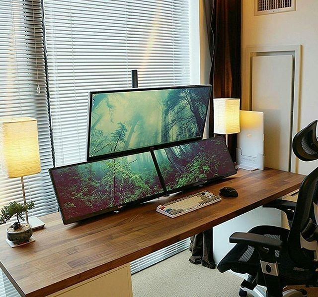 best 25 office setup ideas on pinterest small office spaces small office organization and. Black Bedroom Furniture Sets. Home Design Ideas