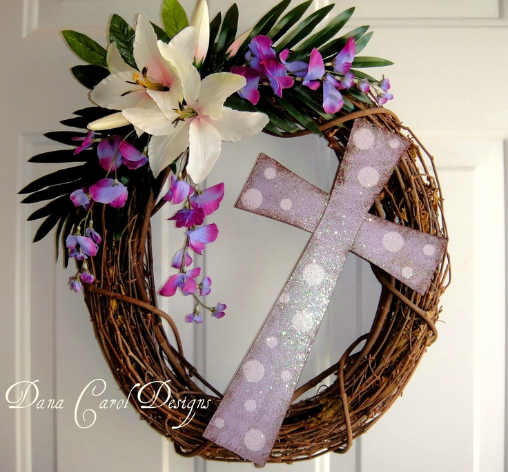 Easter Wreath - He Is Risen - Matthew 28:6