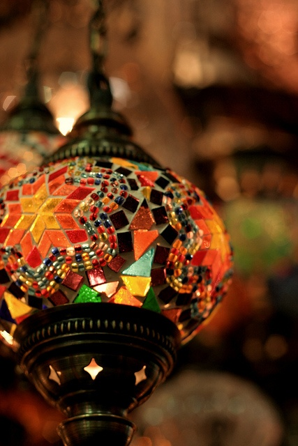144 Best Images About Mosaic Lamps Or Lights On Pinterest