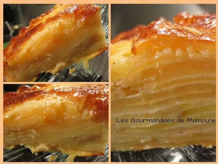 gateau invisible aux pommes. Les Gourmandises de Mamoune(1)
