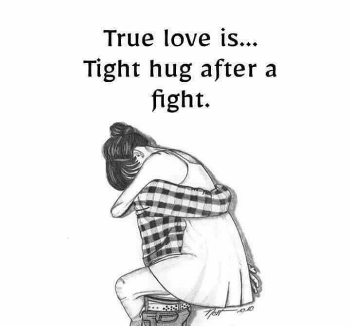 True Love Is Tight Hug After A Fight Pictures Photos And Images For Facebook Tumblr Pintere Fight For Love Quotes Hug Quotes Relationship Fighting Quotes