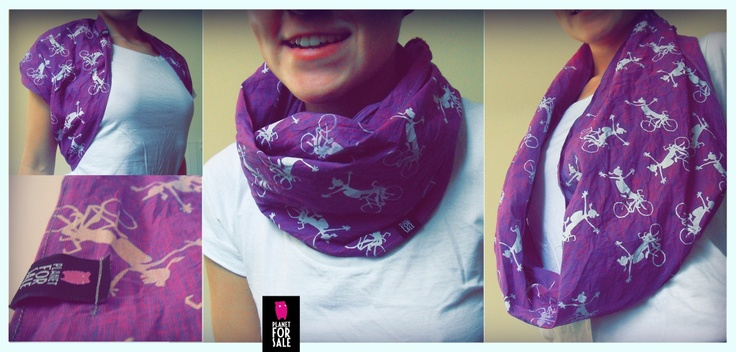 For bikers only  -  infinity scarf