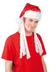 Noel Baba Şapkası, Saçlı