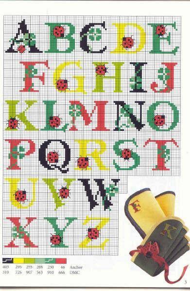 alfabeto coccinella