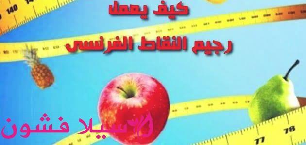 نظام النقاط الفرنسي سيلا فشون Apple Food