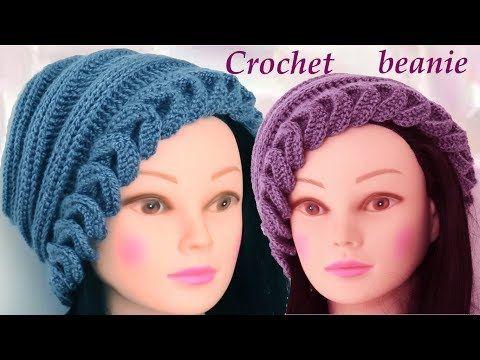 Aprende hacer un gorro fácil tejido con Gancho Crochet How to Crochet learn - YouTube