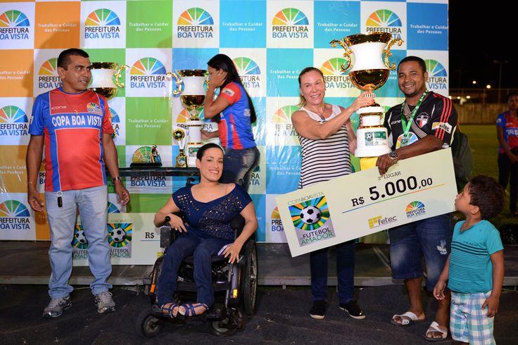 Prefeitura de Boa Vista Racing Futebol Clube é campeão da Copa Boa Vista de Futebol Amador #pmbv #prefeituraboavista #roraima #boavista