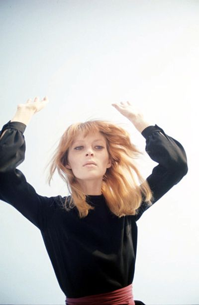 Nico, one-time lead singer of the Velvet Underground, and a great artist in her own right.