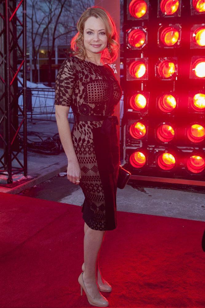 Le tapis rouge des Jutra 2014: Catherine-Anne Toupin | Elle Québec