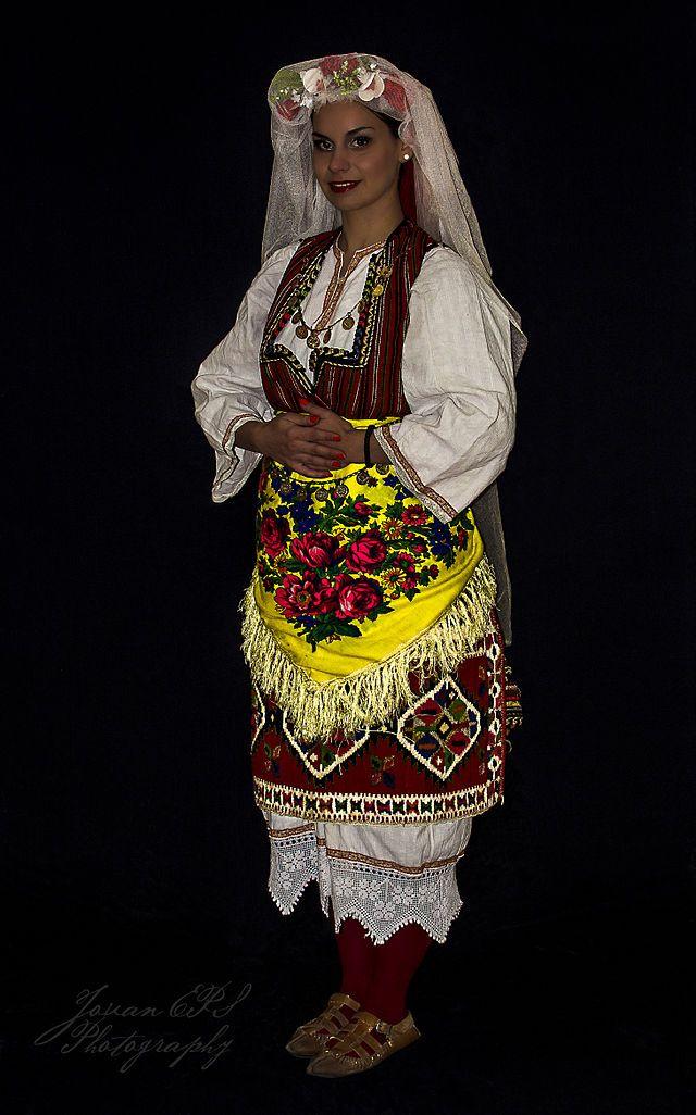 National costume of Skopska Crna Gora - Wikimedia Commons