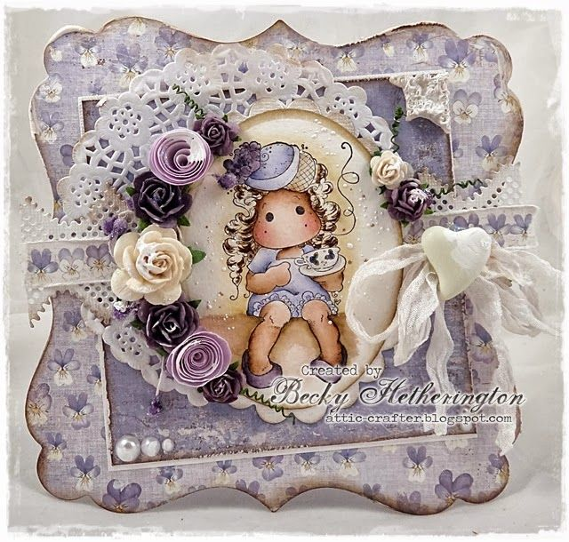 Songbirds at Midweek Magnolias - Cards By Becky