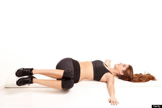 The Leg Twist | 14 Exercises You Can Do While Lying Down