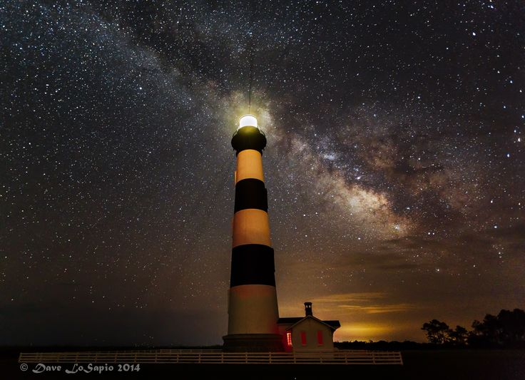 Bodie Light by Dave LoSapio on 500px...  #Stars #Astrophotography #Atlantic Ocean #Beach #Bodie Lighthouse #Eastern NC #North Carolina