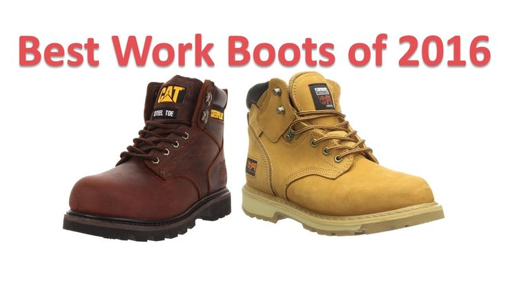 Ultimate work boots