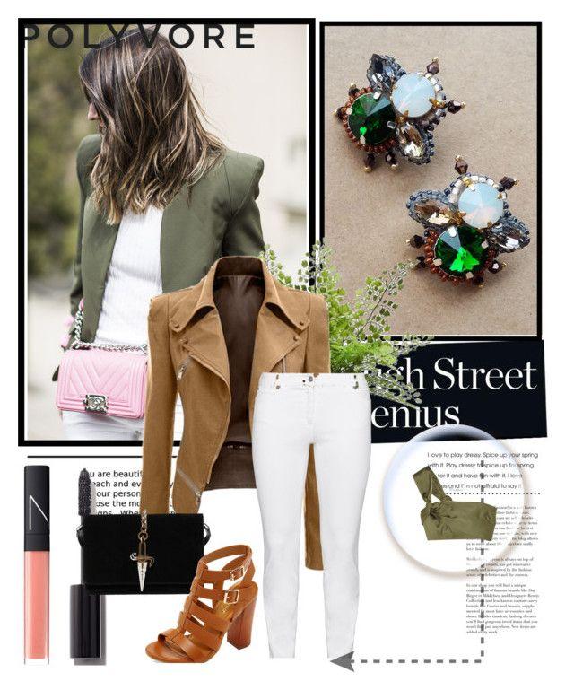 Street genius by edita-kricenaite on Polyvore featuring 3.1 Phillip Lim, Steilmann, Bamboo, Cesare Paciotti, NARS Cosmetics and Chanel