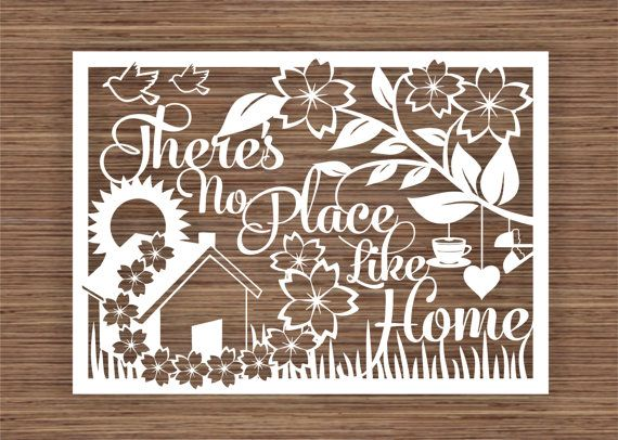 There S No Place Like Home Pdf Svg Commercial Use