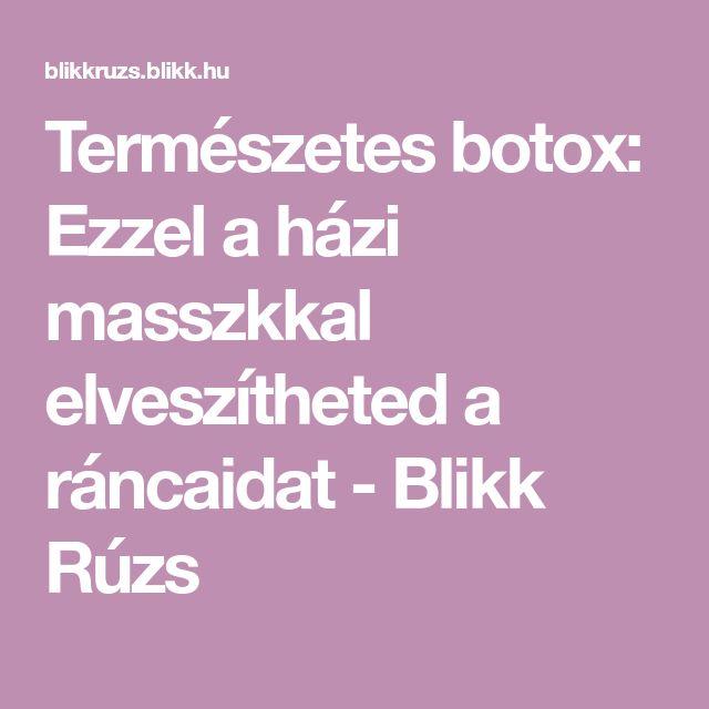 Természetes botox: Ezzel a házi masszkkal elveszítheted a ráncaidat - Blikk Rúzs