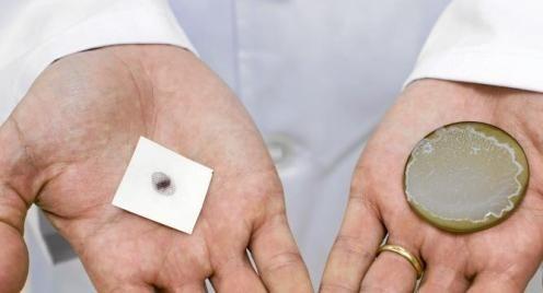 [Vídeo] Nanopartículas de oro y plata contra falsificaciones de joyas y ropa - http://cerebrodigital.org/2013/04/video-nanoparticulas-de-oro-y-plata-contra-falsificaciones-de-joyas-y-ropa/ :  Investigadores del Instituto Tecnológico de Óptica, Color e Imagen (Aido) trabajan en el desarrollo de un sistema de marcaje industrial en joyas, relojes, ropa o bolsos de alta gama que aplica a las tintas convencionales nanopartículas de oro y plata, con el objetivo de poner fin a