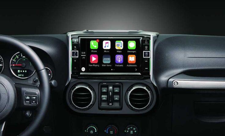 Alpine Jeep Radio Touch Screen