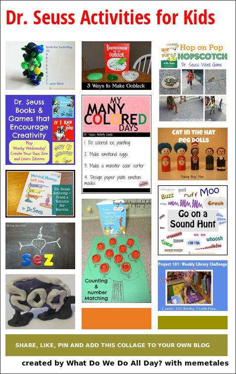 Dr. Seuss Activities for Kids