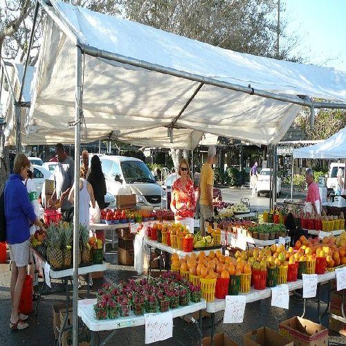 Sunday is market day at Siesta Key Farmers Market in Sarasota, Florida 9am - 2pm http://www.farmersmarketonline.com/fm/SiestaKeyFarmersMarket.html