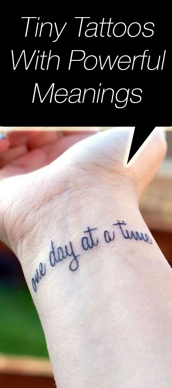 12 significant tattoos that advocate for psychological well being