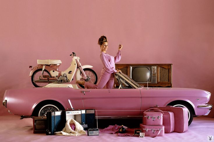 Little Pink Cars: Playboy Playmates of the Year and Their Prize Vehicles (ongoing series)