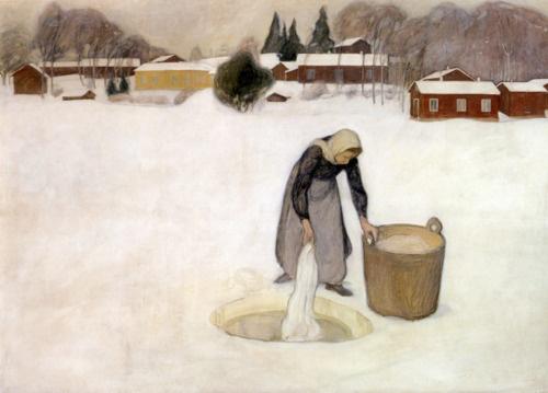 Pekka Halonen, 1900