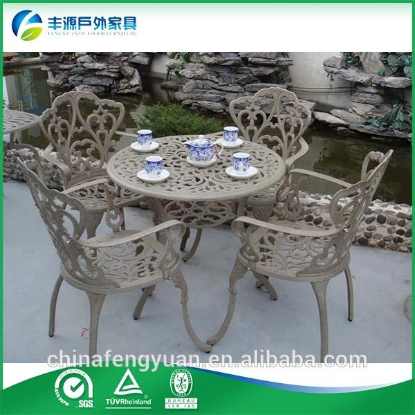 Cast aluminum patio furniture for sale