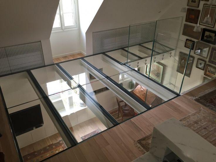 602 best Finestres i claraboies images on Pinterest Architectural - dalle beton interieur maison