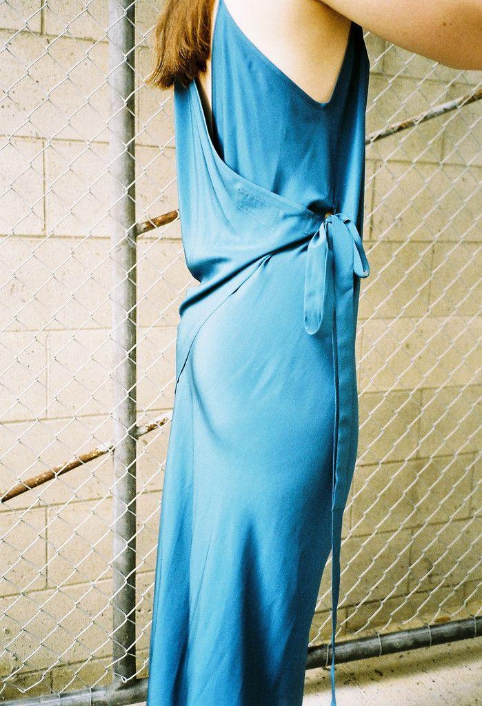 Miss Crabb - Summertime Dress Azure