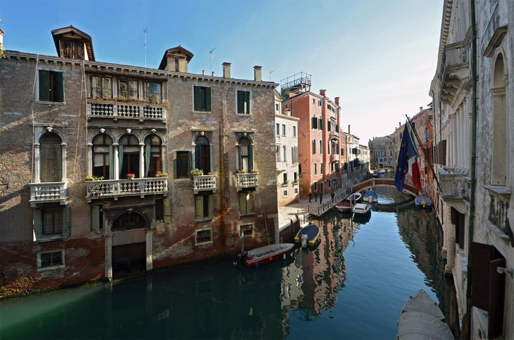 enjoy the charming view on the quiet canal at the Marco Polo apartment!