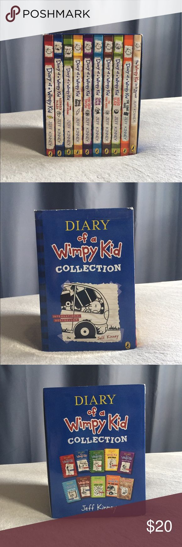 Diary Of A Wimpy Kid 10 Book Box Set! ��