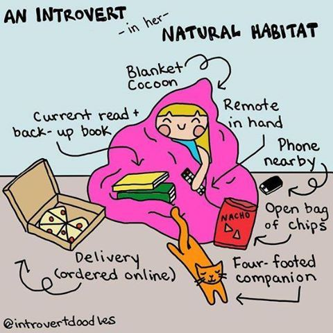 There's an Introvert Doodles book on Amazon that has all sorts of cartoons and drawings in this style