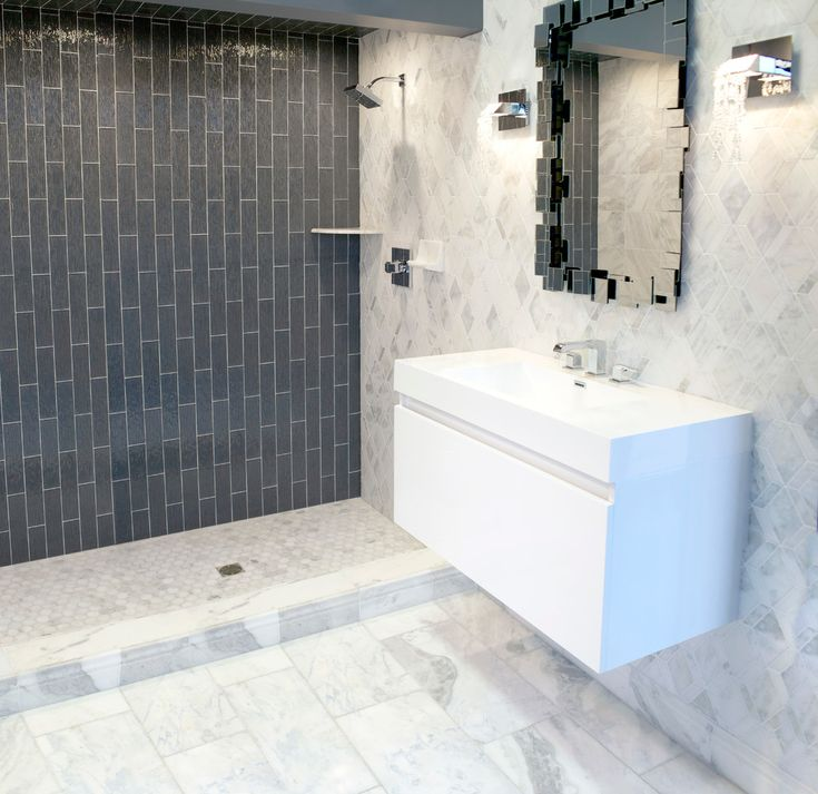 The Tempesta Neve Marble Collection Traditional Bathroom Minneapolis The Tile Shop