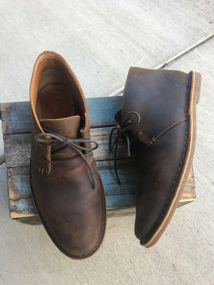 Brown Desert Boots Men Shoes in 2020
