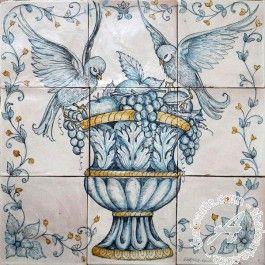 Ghenos > Fruit & Flower > Wall tile mural, floor tile panel