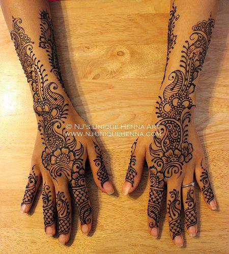 Sarah K's bridal henna 2013 © NJ's Unique Henna Art