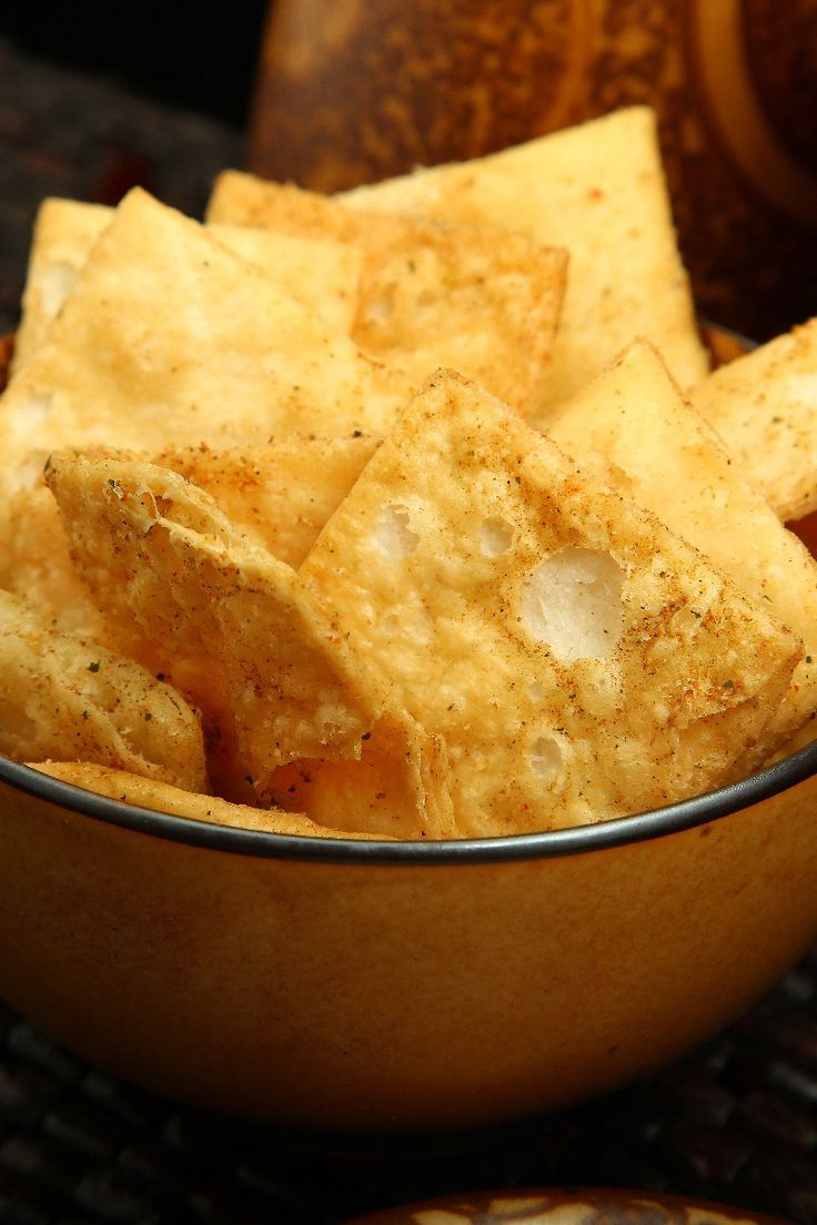 Low Fat Pita Chips #Recipe. Ready in 20 minutes!
