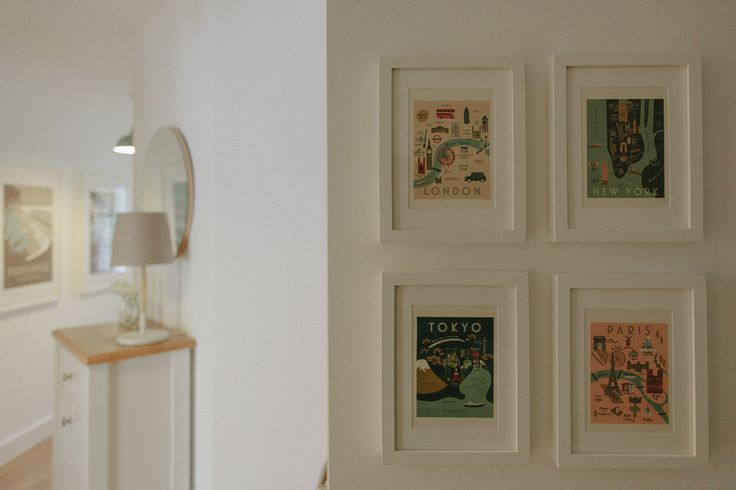 Greeting Cards As Art - Scandi Hallway Tour | Image By Adam Crohill