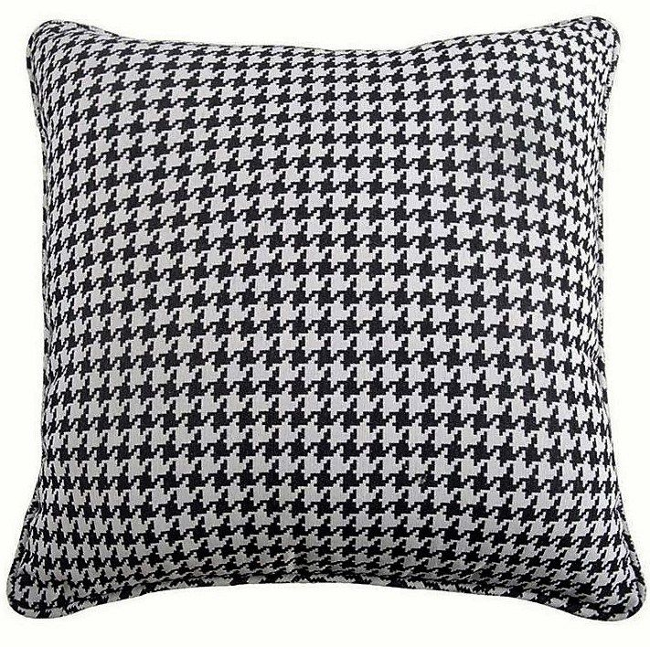European Pillow Shams in Charcoal & White - Lodge Bedding Accents