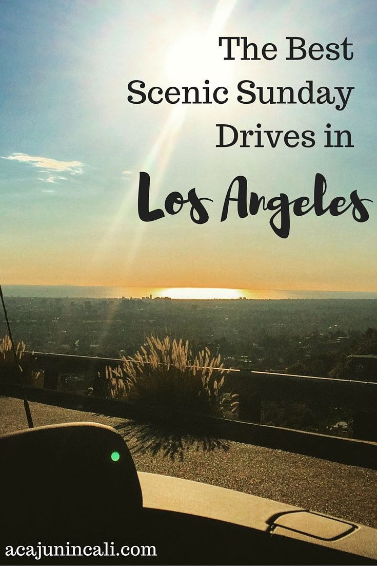 Los Angeles Scenic Drives | Los Angeles Things to Do | Scenic Drives Southern California | LA Attractions | Los Angeles Travel | Visit California | Sunday Drives